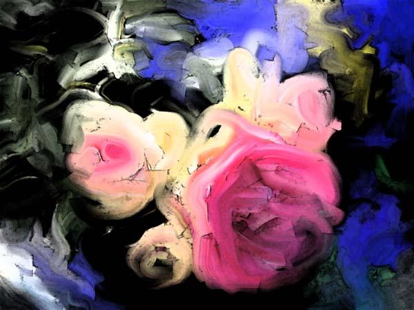 """hanne elf ou """"la fleur du paradis """" - art côte d'azur"""
